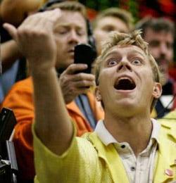 фондовый рынок полон эмоций