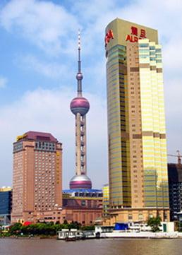 Мировой финансовый центр в Шанхае